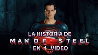 Superman Man of Steel I La Historia en 1 Video