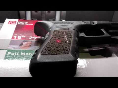 Laser stippling on polymer grips and lower receivers made easy with Z Tech's lasers.