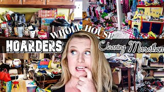 HOARDER! ENTIRE HOUSE CLEAN WITH ME MARATHON! SATISFYING CLEANING! TIME LAPSE! LIVING WITH CAMBRIEA
