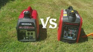 Honda eu2200i vs predator 2000 inverter generator