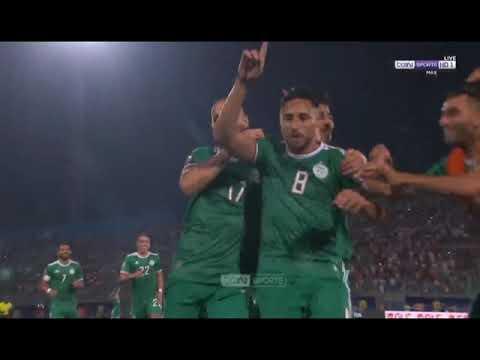 الجزائر السنغال 2019 Algeria Vs Senegal هدف بلايلي الصاروخي Belaili Goal