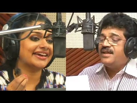 M.G.Sreekumar & Rimi Tomy in Song Recording of Malayalam Movie Destiny