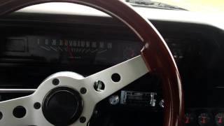 autogear m23z 4 speed manual transmission in a 1969 nova