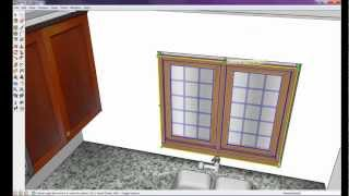 How to draw a kitchen with free software 8 of 8