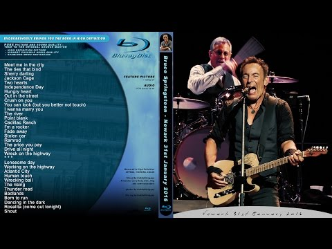 Bruce Springsteen - The Price You Pay - New Jersey - Newark 31.1.2016 Full Show Blu-ray