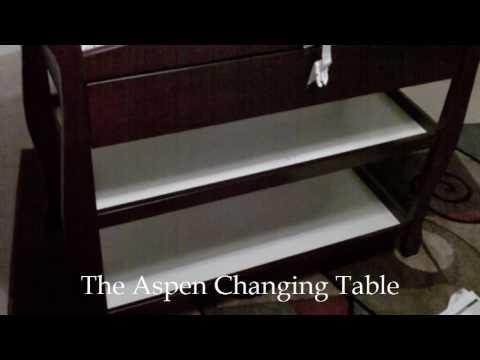 Stork Craft Aspen Changing Table