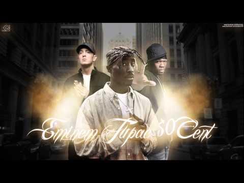 Eminem - Drama Setter (New 2015) [Ft. 2Pac & 50 Cent]