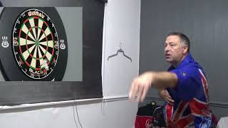 Darts coaching with DYNAMITE DAVE. tops n toes