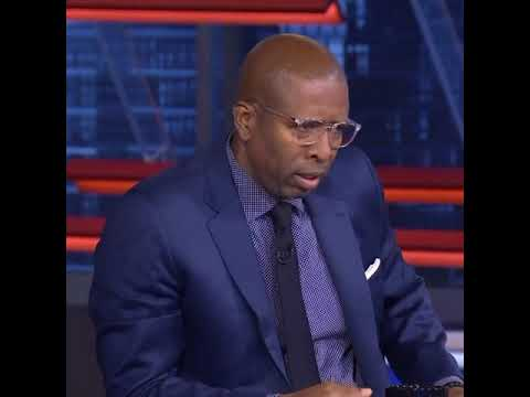 Kenny Smith walks off TNT set in support of NBA players strike