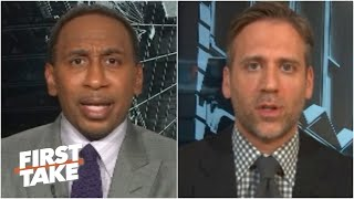 Stephen a. smith and max kellerman react to president donald trump's comments saying colin kaepernick should be given another chance in the nfl if kaepernick...