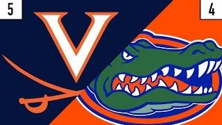 5 Virginia vs. 4 Florida Prediction | Who