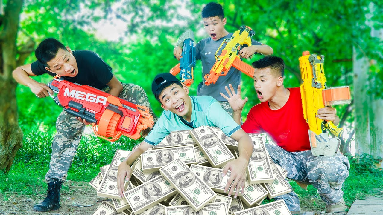 Battle Nerf War: What's Most Important Police nerf guns Money Nerf Battle