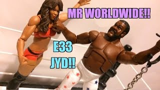 WWE ACTION INSIDER: JunkYard Dog Elite Series 33 Mattel Wrestling Figure Toy Review