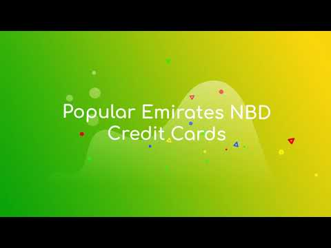Emirates NBD Credit Card in UAE