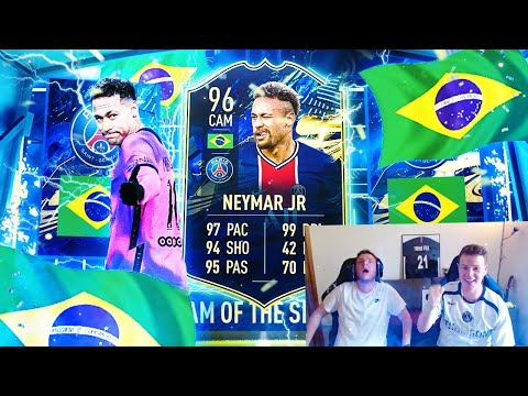 NEYMAR!!! - ON OUVRE 12 PACKS TOTS LIGUE 1 SBC! FIFA 21 Pack Opening