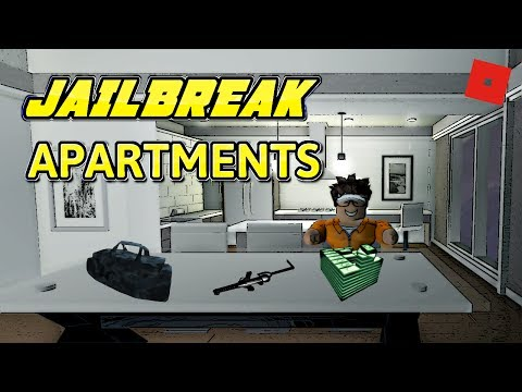NEW JAILBREAK APARTMENTS!!! (ROBLOX Jailbreak Update) - Garage Inside Apartment?!?