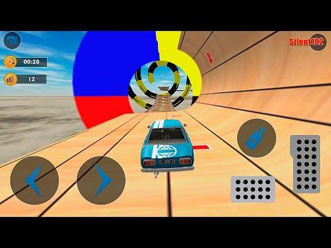 Classics Car Stunts - Mega Ramp Stunt Car Games 3D #2 - Android Gameplay