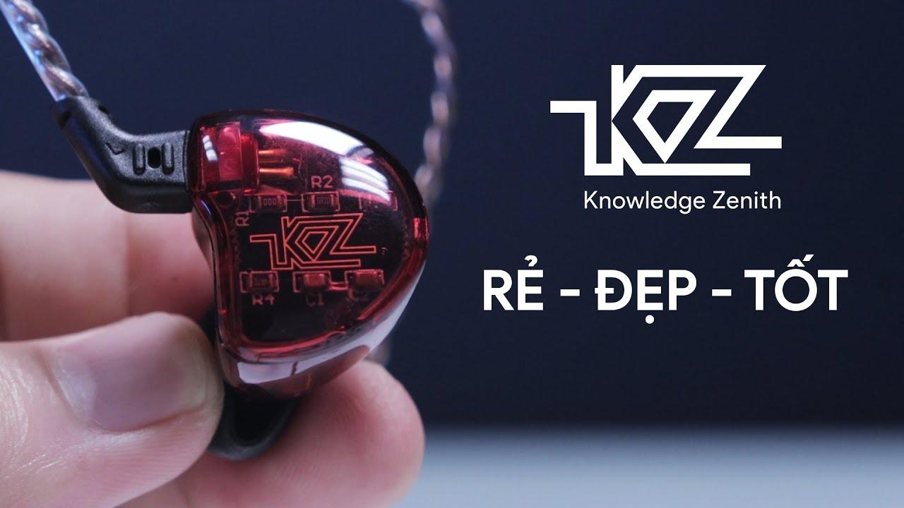 Tiền ÍT hít tai nghe THƠM, thiết kế CỰC CHẤT!! – KZ ZS10