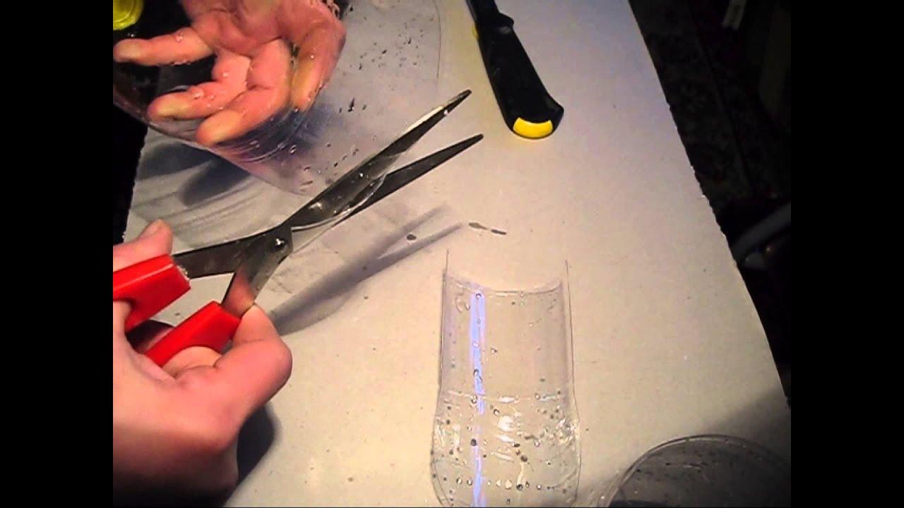 Как сделать совок из пластиковой бутылки