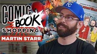 Spider-Man: Homecoming & Silicon Valley's Martin Starr Goes Comic Book Shopping with Collider