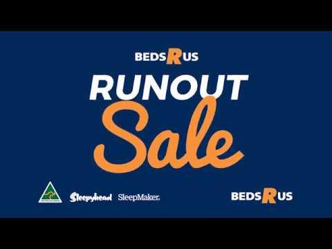 Beds R Us 50% Off SleepMaker Runout Sale