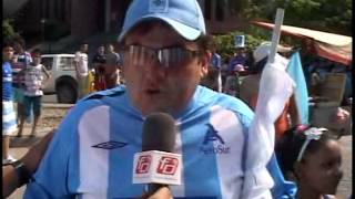 CARAVANA CELESTE DIA DEL HINCHA DE BLOOMING 18 11 13