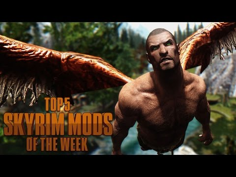 Kevin's Angels - Top 5 Skyrim Mods of the Week
