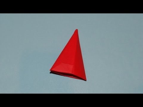 How To Make An Origami Hat Santa Claus Cap 03 Youtube