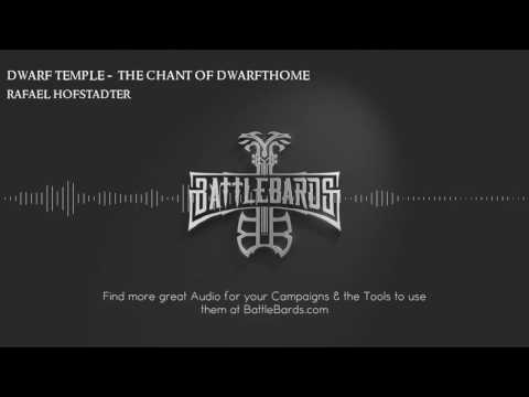 Dwarf Temple: The Chant of Dwarfthome by Rafael Hofstadter | Musical Score