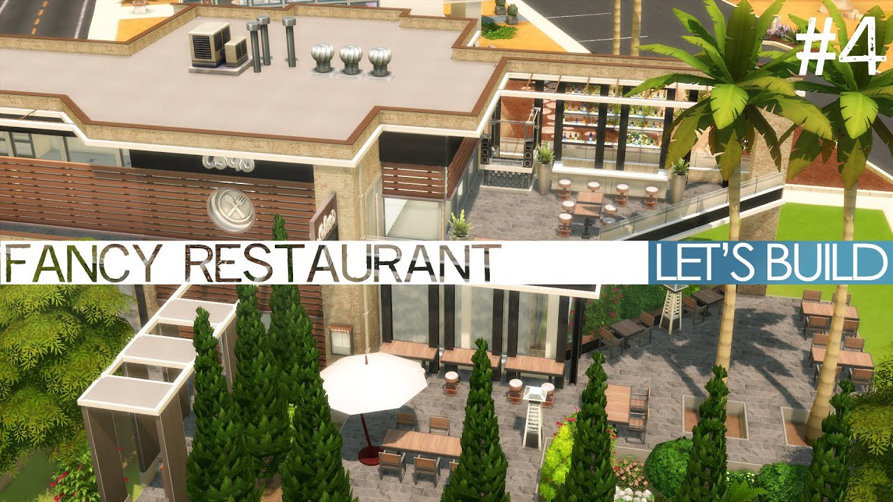 Sims  How To Build A Restaurant
