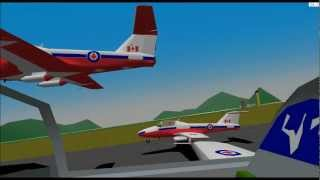 YS Flight Simulator SNOW BIRDS