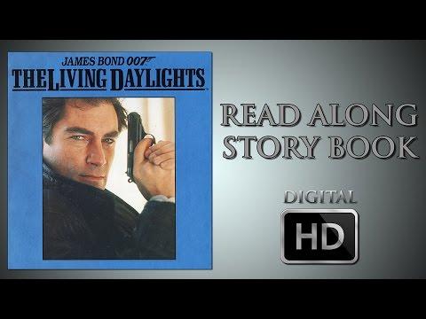 The Living Daylights  Read Along Story Book  Timothy Dalton  John Glen  James Bond 007  HD