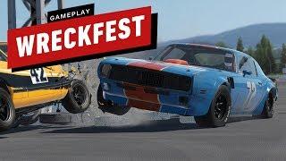 18 Minutes of Wreckfest Gameplay