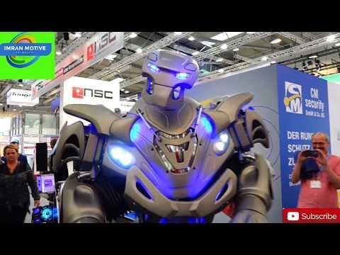 Robot in Dubai । Titan Robot । Dubai Police Robot । Dubai's Robot in Exhibition