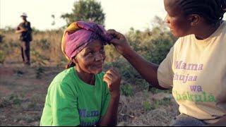 Tanzania's latest TV celebrities are female farmers