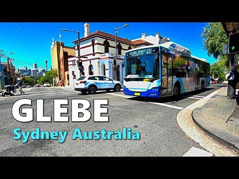 GLEBE Sydney Australia 2019 | Walking Tour Along GLEBE POINT ROAD To Great Western Highway