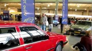 Volvo 700 stand including 760 DDR Honecker limousine