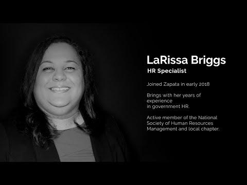 Zapata Technology - LaRissa Briggs-Why Zapata