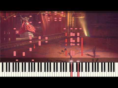 NieR: Automata - A Beautiful Song (Opera Boss Theme) [Synthesia] + MIDI
