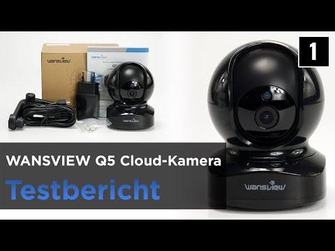 Wansview Q5 im Test - preisgünstige WLAN Cloud-Kamera mit App und