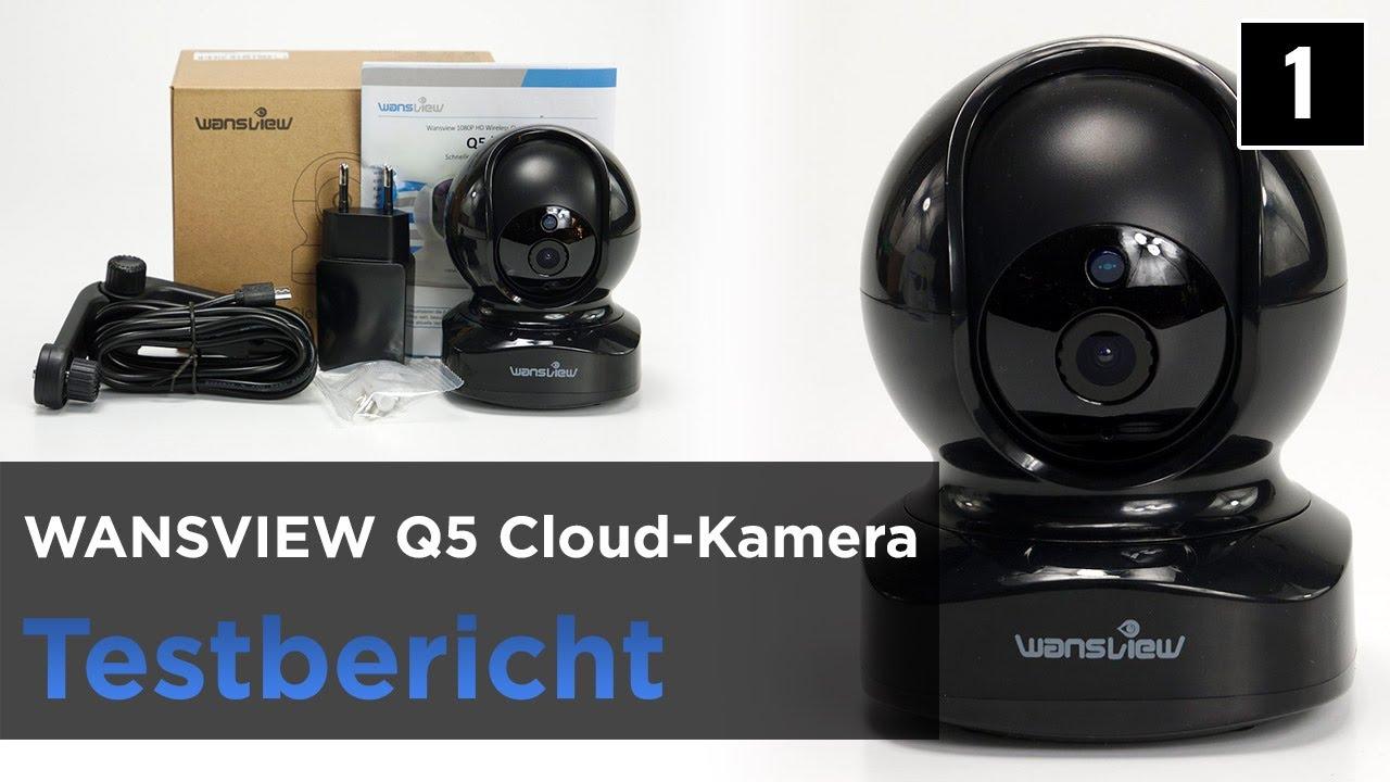 Wansview Q5 im Test - WLAN-Überwachungskamera mit Motorsteuerung -  Installation & Unboxing (1)
