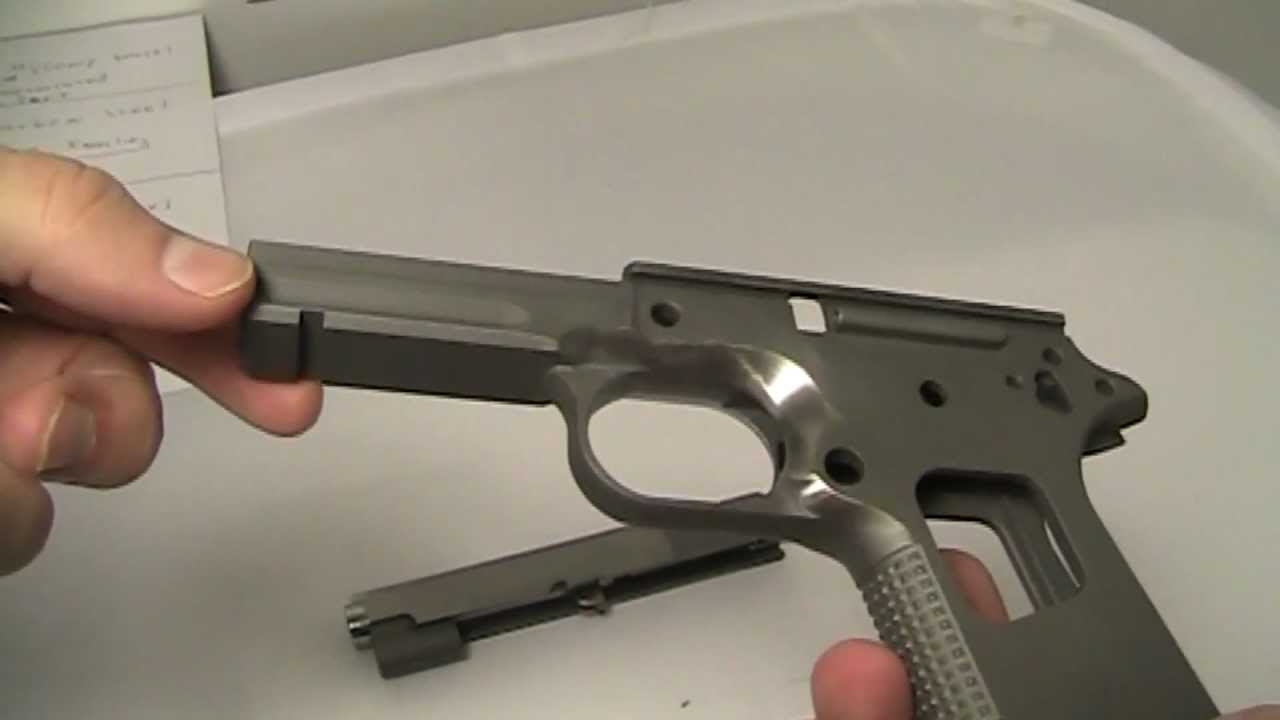 1911 COMMANDER PRE-BUILD 45 SCHUEMANN HYCOMP AET BARREL CASPIAN ...