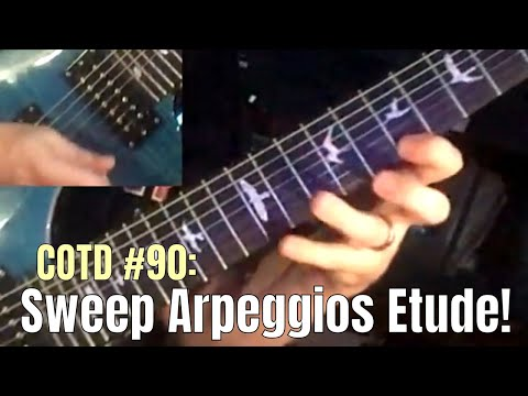 16-Beat Sweep Arpeggios Etude: ShredMentor Challenge of the Day #90