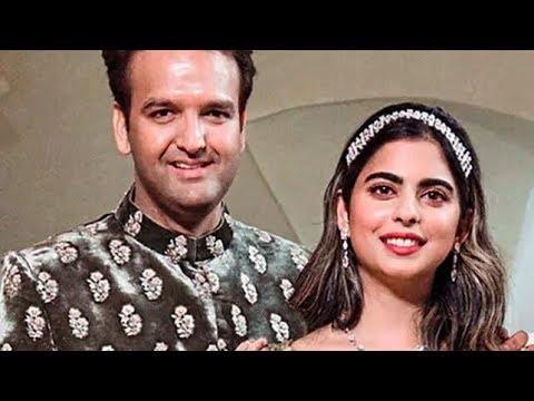 Isha Ambani to wed Anand Piramal today