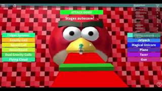 Roblox Escape The Angry Bird Obby Hholykukingames Playing Stages 1-66