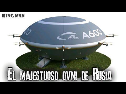 El OVNI Ruso que puede cargar 600 toneladas