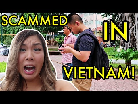 WE GOT SCAMMED! FIRST DAY IN SAIGON! | VIETNAM TRAVEL VLOG 2017