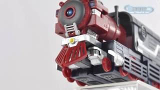 010 Mastermind Creations KM-01 Knight Morpher Commander - TF Source Video Review 010