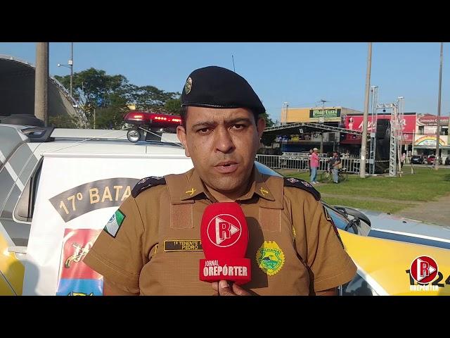 Polícia Militar do Estado do Paraná lançou a Operação Natal 2019