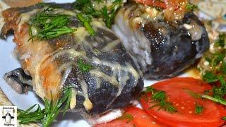 Как приготовить сома. Сом, жаренный с овощами, под сырным соусом